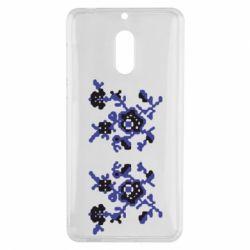 Чехол для Nokia 6 Квітковий орнамент - FatLine