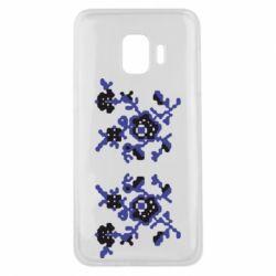 Чехол для Samsung J2 Core Квітковий орнамент - FatLine