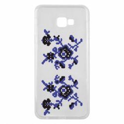 Чехол для Samsung J4 Plus 2018 Квітковий орнамент - FatLine