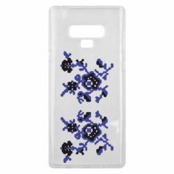 Чехол для Samsung Note 9 Квітковий орнамент - FatLine