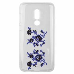 Чехол для Meizu V8 Квітковий орнамент - FatLine