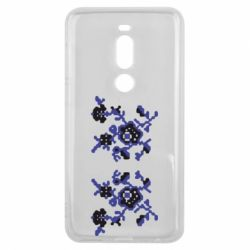 Чехол для Meizu V8 Pro Квітковий орнамент - FatLine