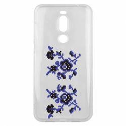 Чехол для Meizu X8 Квітковий орнамент - FatLine
