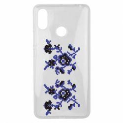 Чехол для Xiaomi Mi Max 3 Квітковий орнамент - FatLine