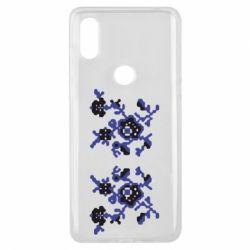 Чехол для Xiaomi Mi Mix 3 Квітковий орнамент - FatLine