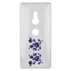 Чехол для Sony Xperia XZ2 Квітковий орнамент - FatLine