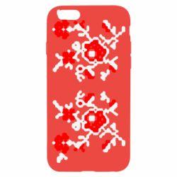 Чехол для iPhone 6/6S Квітковий орнамент - FatLine