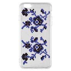 Чехол для iPhone 6 Plus/6S Plus Квітковий орнамент - FatLine