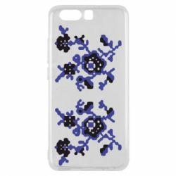 Чехол для Huawei P10 Квітковий орнамент - FatLine