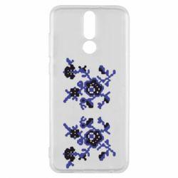 Чехол для Huawei Mate 10 Lite Квітковий орнамент - FatLine