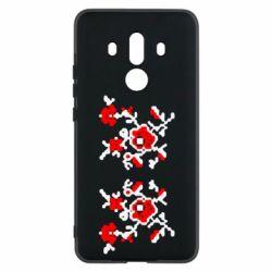 Чехол для Huawei Mate 10 Pro Квітковий орнамент - FatLine