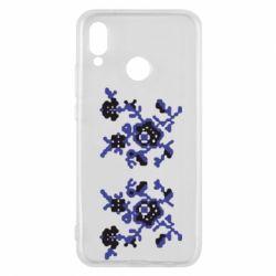 Чехол для Huawei P20 Lite Квітковий орнамент - FatLine