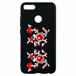 Чехол для Xiaomi Mi A1 Квітковий орнамент - FatLine