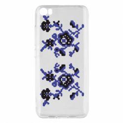Чехол для Xiaomi Xiaomi Mi5/Mi5 Pro Квітковий орнамент - FatLine
