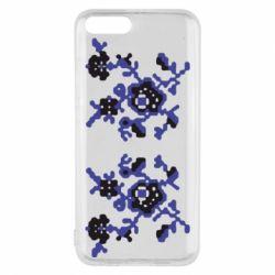 Чехол для Xiaomi Mi6 Квітковий орнамент - FatLine