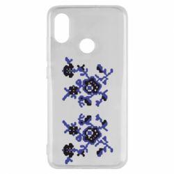 Чехол для Xiaomi Mi8 Квітковий орнамент - FatLine