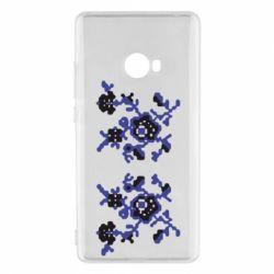 Чехол для Xiaomi Mi Note 2 Квітковий орнамент - FatLine