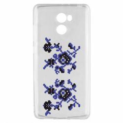 Чехол для Xiaomi Redmi 4 Квітковий орнамент - FatLine