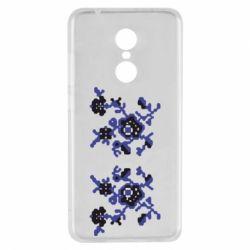Чехол для Xiaomi Redmi 5 Квітковий орнамент - FatLine