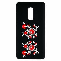 Чехол для Xiaomi Redmi Note 4 Квітковий орнамент - FatLine