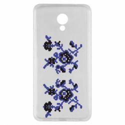 Чехол для Meizu M5 Note Квітковий орнамент - FatLine