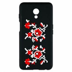 Чехол для Meizu M6s Квітковий орнамент - FatLine