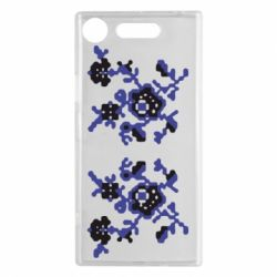 Чехол для Sony Xperia XZ1 Квітковий орнамент - FatLine