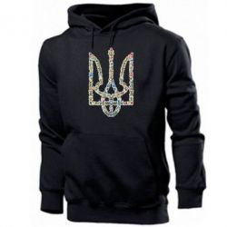 Мужская толстовка Квітучий герб України