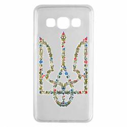 Чехол для Samsung A3 2015 Квітучий герб України
