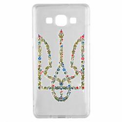 Чехол для Samsung A5 2015 Квітучий герб України