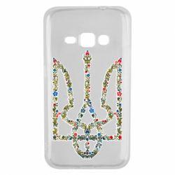 Чехол для Samsung J1 2016 Квітучий герб України