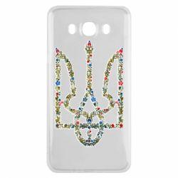 Чехол для Samsung J7 2016 Квітучий герб України