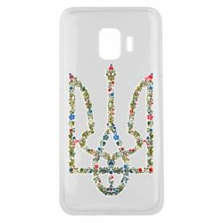 Чехол для Samsung J2 Core Квітучий герб України