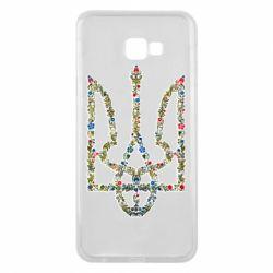 Чехол для Samsung J4 Plus 2018 Квітучий герб України