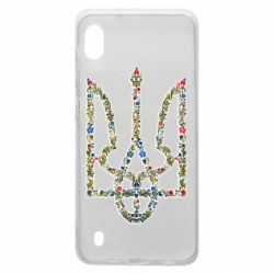 Чехол для Samsung A10 Квітучий герб України