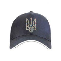 кепка Квітучий герб України - FatLine