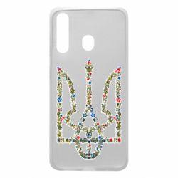 Чехол для Samsung A60 Квітучий герб України
