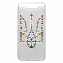 Чехол для Samsung A80 Квітучий герб України