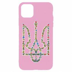 Чехол для iPhone 11 Квітучий герб України