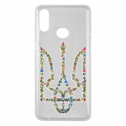 Чехол для Samsung A10s Квітучий герб України