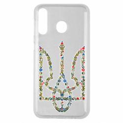 Чехол для Samsung M30 Квітучий герб України