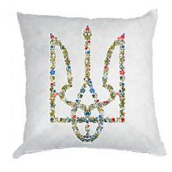 Подушка Квітучий герб України