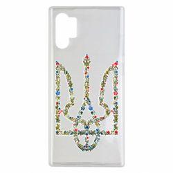 Чехол для Samsung Note 10 Plus Квітучий герб України