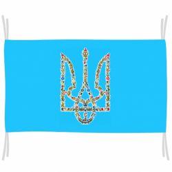 Флаг Квітучий герб України