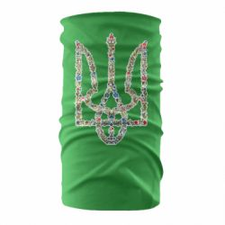 Бандана-труба Квітучий герб України