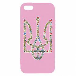 Чехол для iPhone5/5S/SE Квітучий герб України