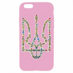 Чехол для iPhone 6/6S Квітучий герб України