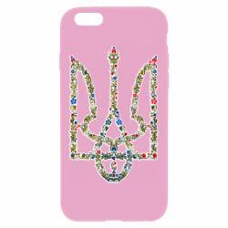 Чехол для iPhone 6 Plus/6S Plus Квітучий герб України