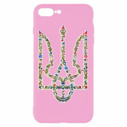 Чехол для iPhone 7 Plus Квітучий герб України