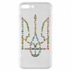 Чехол для iPhone 8 Plus Квітучий герб України